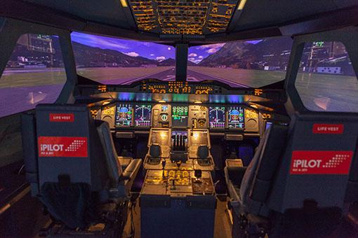 J'aurais voulu être pilote de ligne…
