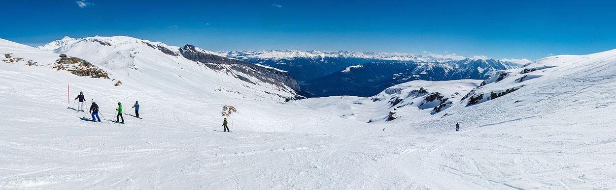 Notre dernier week-end de ski de la saison : Laax