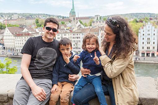 Eléa et Naël découvrent Zürich