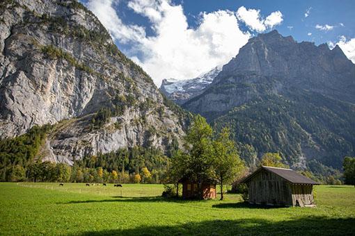 5 Octobre 2018 – Mrs & Mr – Notre week-end dans l'Oberland bernois